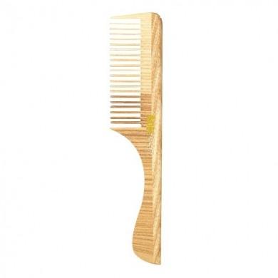 Peigne dents serrées avec manche