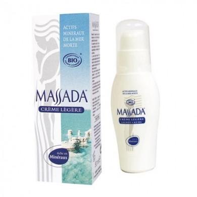 MASSADA -  Crème légère Bio - 50ml
