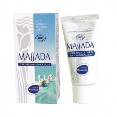 MASSADA - Baume pour le corps Bio - 50ml