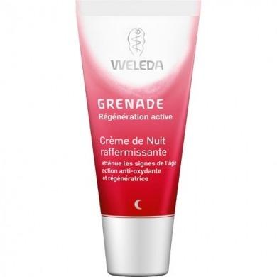 WELEDA - Crème de nuit raffermissante à la grenade Anti-age - 30ml