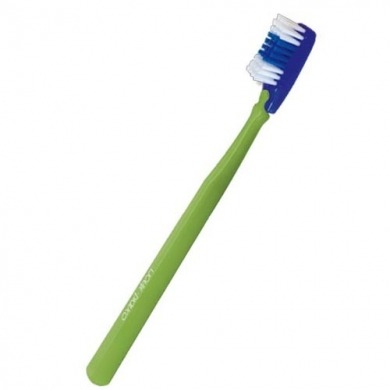 "Brosse à dents en nylon ""souple"" à tête interchangeable"