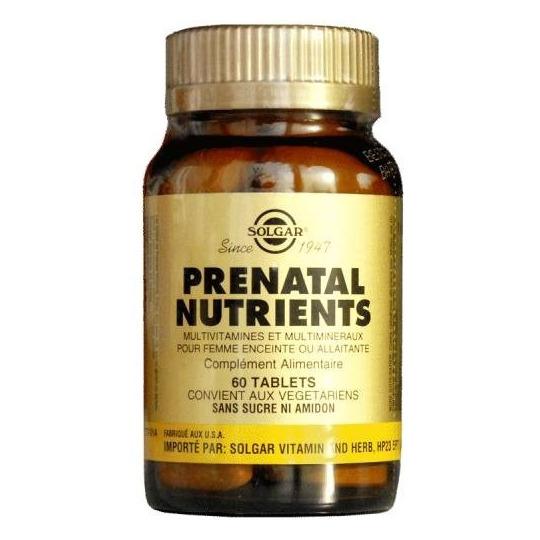 Prenatal Nutrients - 60 comprimés