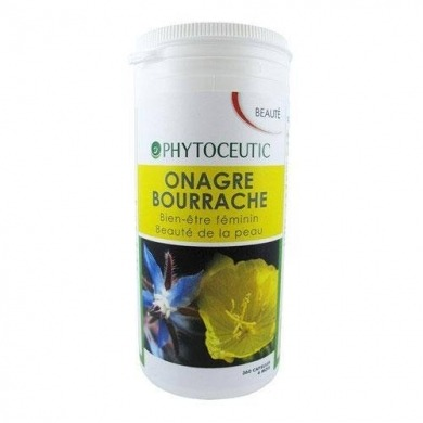 PHYTOCEUTIC - Onagre-Bourrache - 360 capsules