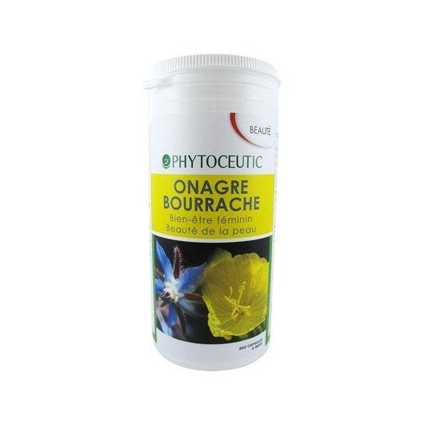PHYTOCEUTIC -  Onagre-Bourrache - 360 capsules