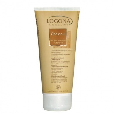 LOGONA - Ghassoul patchouli gel - 200ml