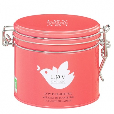 LØV ORGANIC - Boite 100g Lov is Beautiful