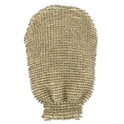 Gant de massage lin & coton - fibres épaisses