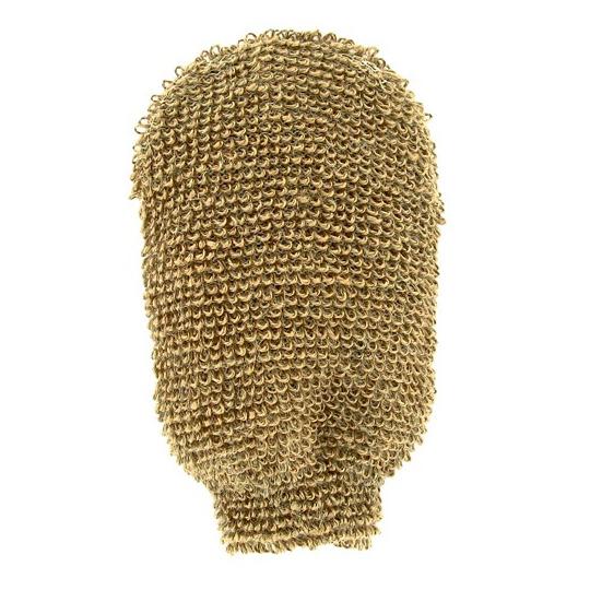 Gant de massage lin - fibres épaisses