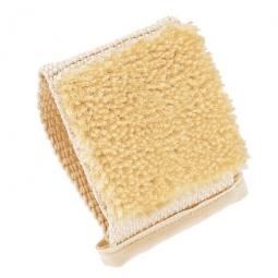Petite brosse de massage en aloe sisal coton