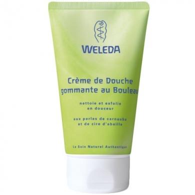 Crème de douche gommante au Bouleau