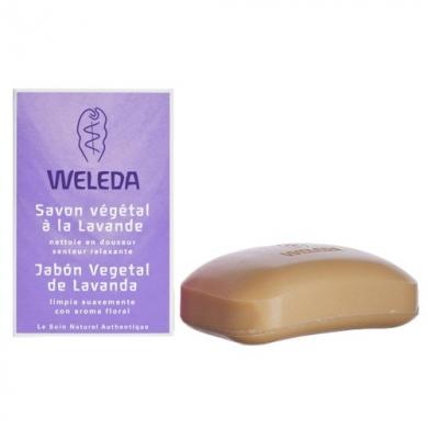 WELEDA -  Savon Végétal à la Lavande