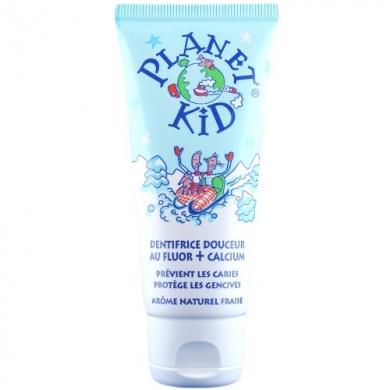 PLANET KID -  Dentifrice douceur au fluor et calcium pour enfants