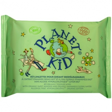 PLANET KID - Lingettes Biodégradables