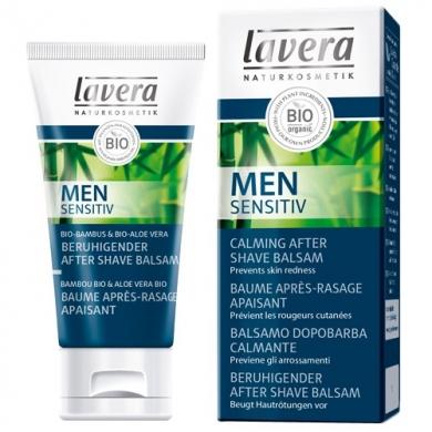 LAVERA - Men Sensitiv Baume après-rasage apaisant Lavera