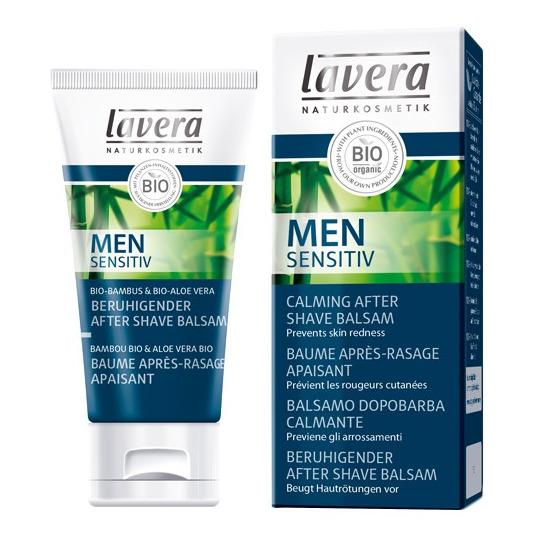 Men Sensitiv Baume après-rasage apaisant Lavera