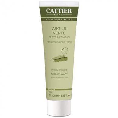 CATTIER - Argile verte prête à l'emploi 100ml Cattier