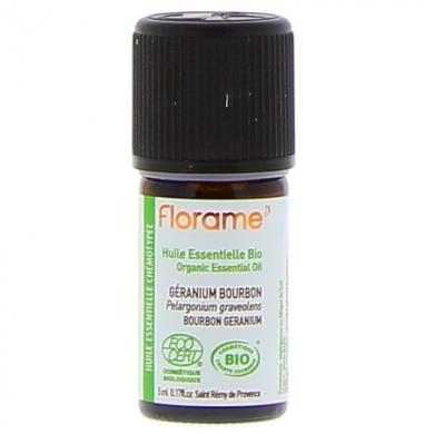 FLORAME - Huile Essentielle Bio GERANIUM BOURBON 5ml