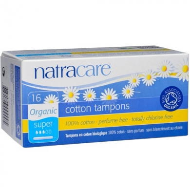 NATRACARE -  Tampons SUPER avec applicateur