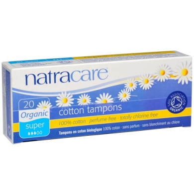NATRACARE - Tampons SUPER sans applicateur