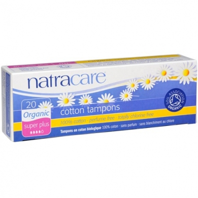 NATRACARE - Tampons SUPER + sans applicateur