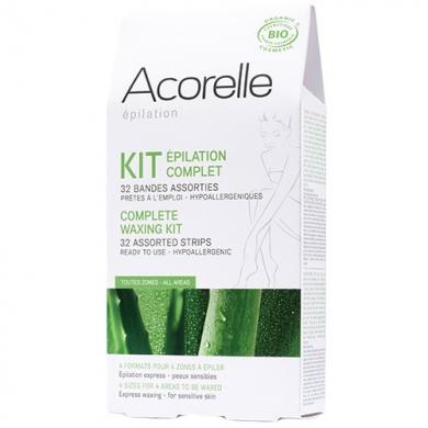 ACORELLE - Kit épilation complet