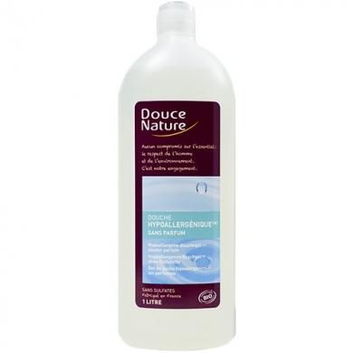 DOUCE NATURE - Douche hypoallergénique à l'eau florale de rose