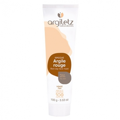 ARGILETZ - Masque d'Argile Rouge - Peaux Sèches