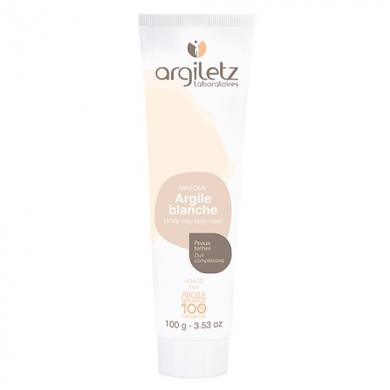 ARGILETZ - Masque d'Argile Blanche - Peaux Ternes