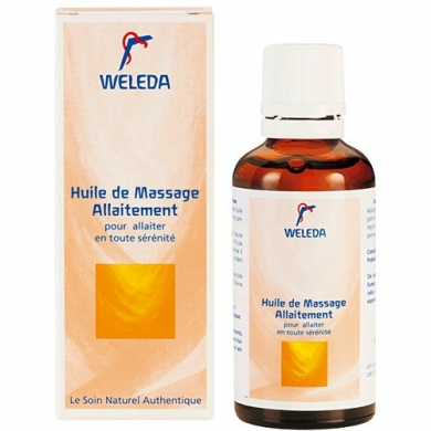 WELEDA - Huile de massage allaitement