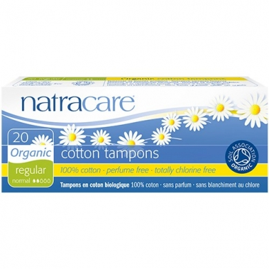 NATRACARE - Tampons REGULIERS sans applicateur