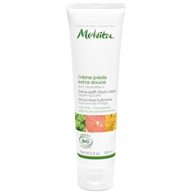 MELVITA - Crème pieds extra douce