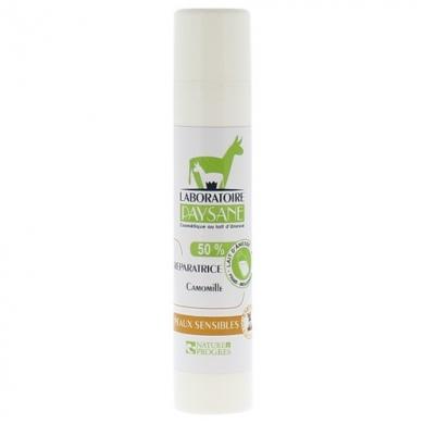 LABORATOIRE PAYSANE - Crème réparatrice Camomille - 50% lait d'anesse