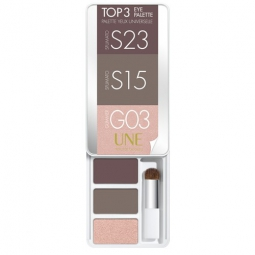 Palette yeux universelle Top 3