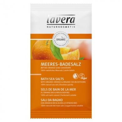 LAVERA -  Sels de bain de la mer Body SPA Orange & Argousier Bio