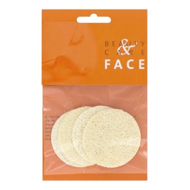 FORSTER'S NATURAL PRODUCTS - Eponges exfoliantes loofah x4