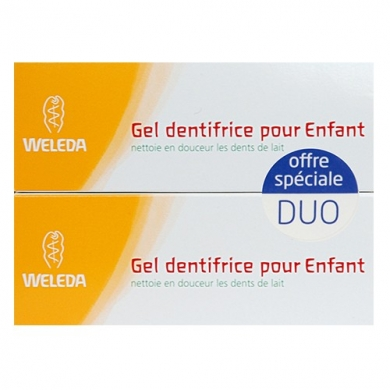 WELEDA - Duo dentifrice pour Enfant
