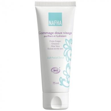 NAFHA -  Gommage doux visage - purifiant et hydratant
