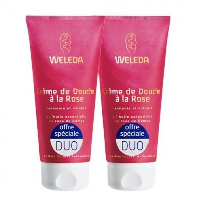 WELEDA - Duo Crème de douche à la Rose