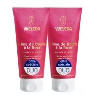 Duo Crème de douche à la Rose