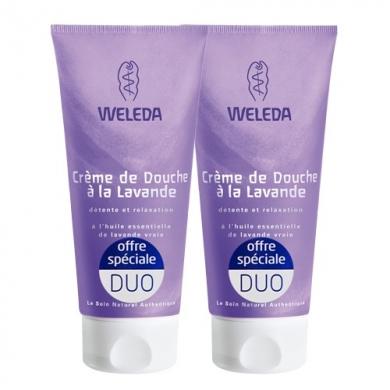 WELEDA - Duo Crème de douche à la Lavande