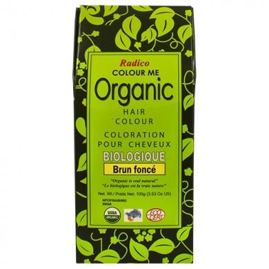 Coloration pour cheveux biologique - Colour Me Organic Couleur-Brun foncé - Dark brown