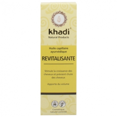 KHADI -  Huile de soin capillaire revitalisante
