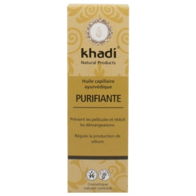 KHADI - Huile de soin capillaire Purifiante