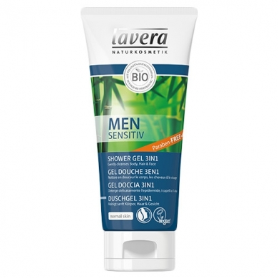 LAVERA - Gel douche 3 en 1 Men Sensitiv