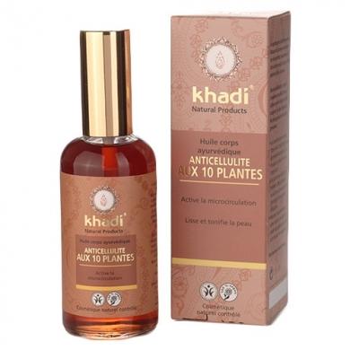 KHADI - Huile ayurvédique anti-cellulite aux 10 plantes