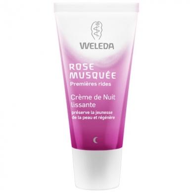 WELEDA - Crème de nuit lissante à la Rose musquée