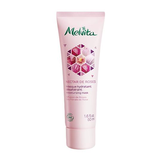 Masque Hydratant Désaltérant Nectar de Roses