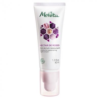 MELVITA - Soin de Nuit Ressourçant Nectar de Roses