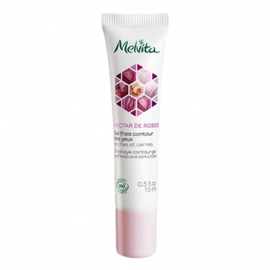 MELVITA -  Gel Frais Contour des Yeux Nectar de Roses