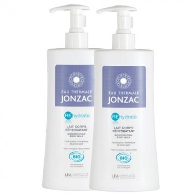 JONZAC EAU THERMALE - Duo Lait corps hydratant
